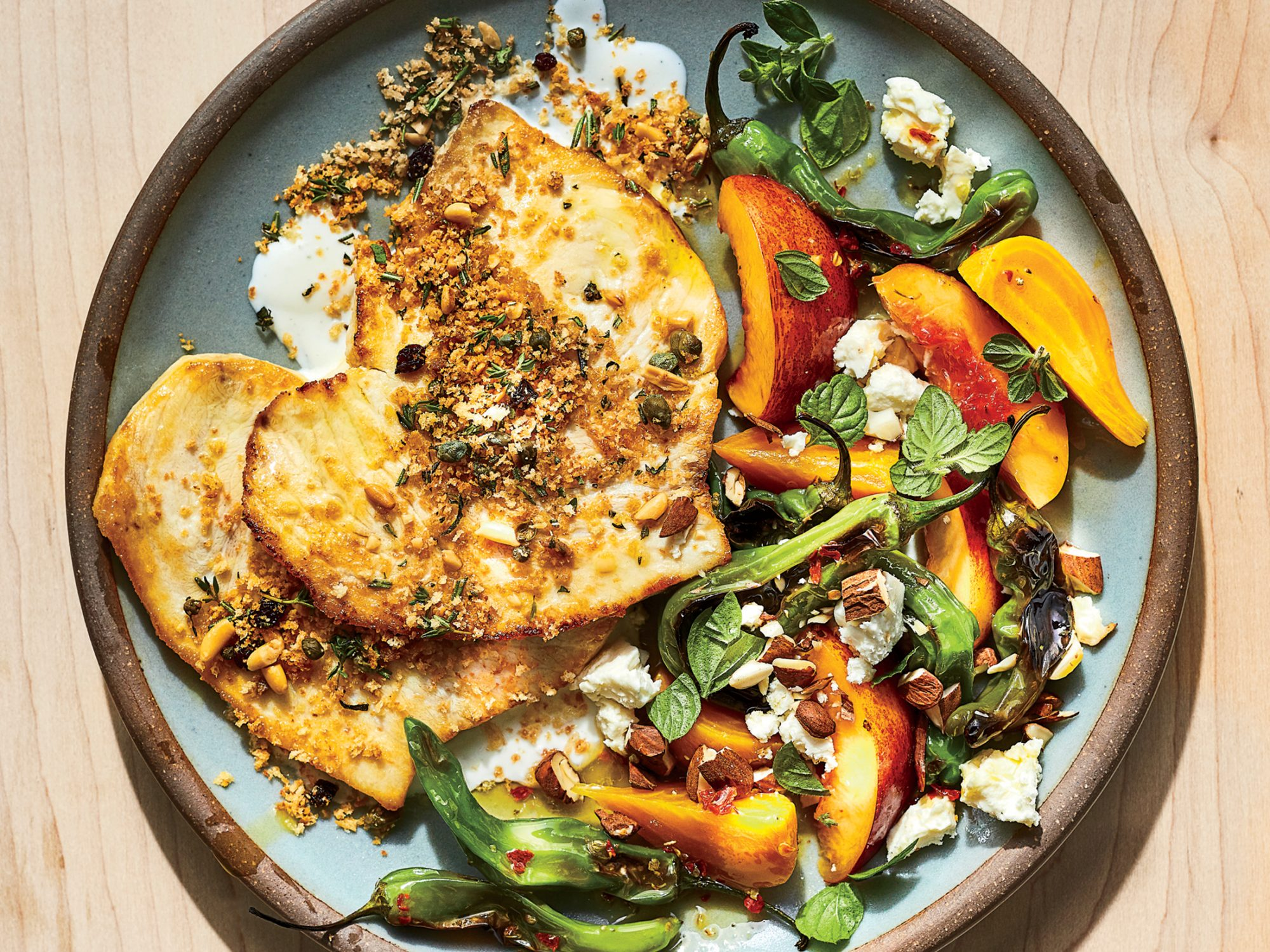 Swordfish Scaloppine with Capers