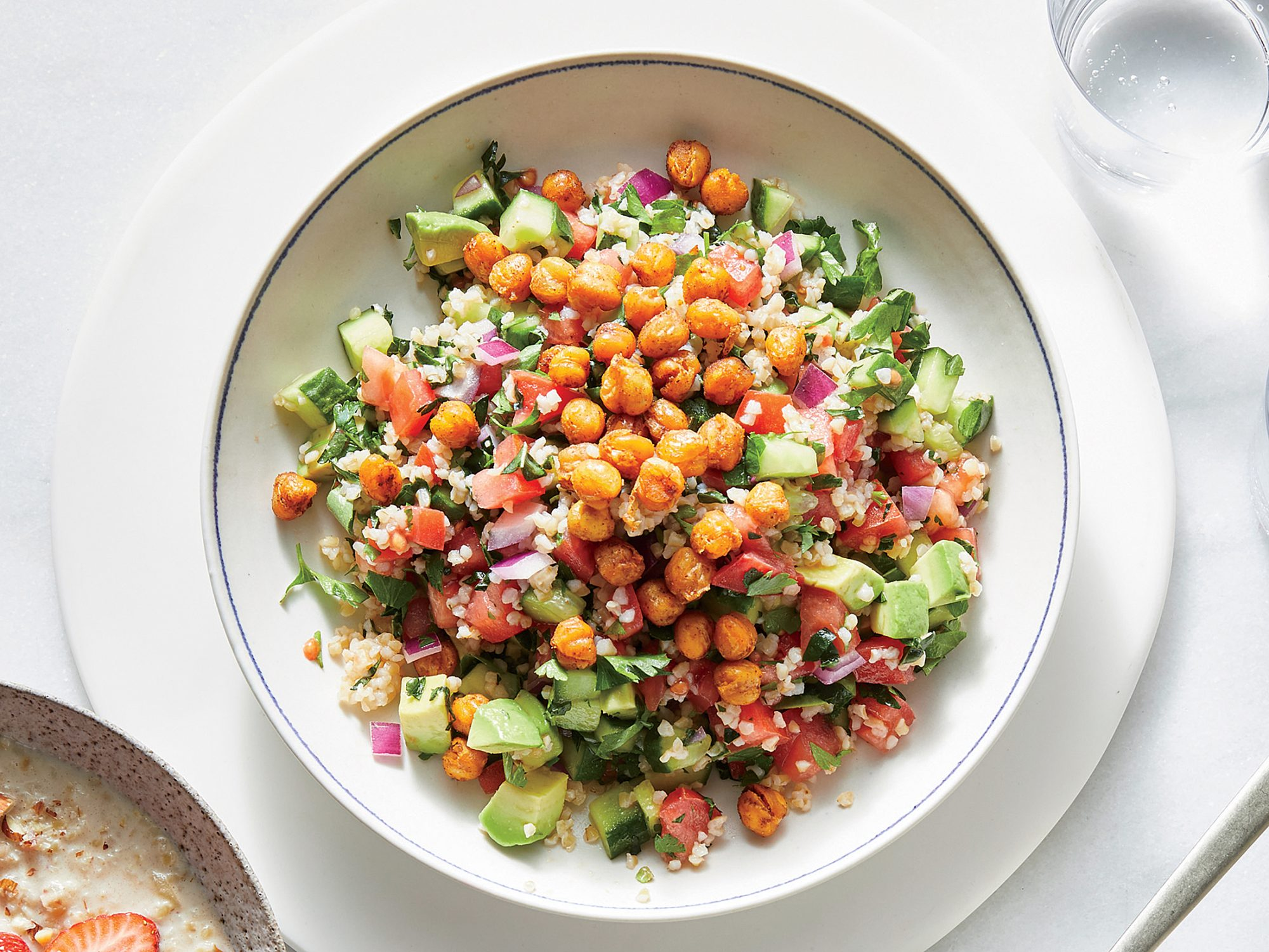 Tabbouleh with Avocado