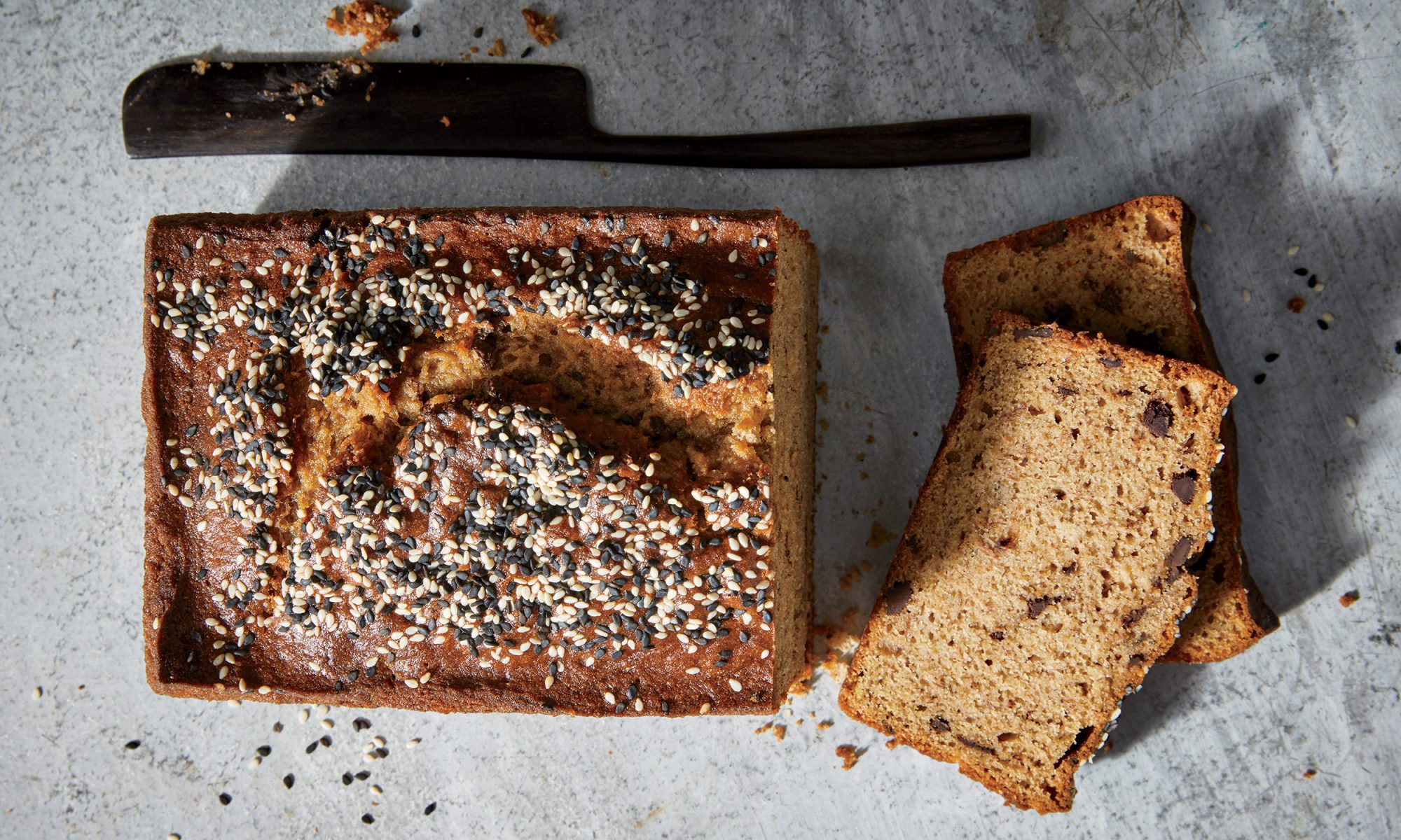 Chocolate-Tahini Banana Bread Is 10/10 Would Bake Again