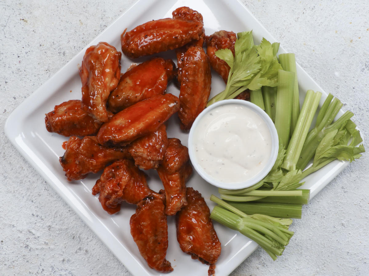 Air Fried Buffalo Wings image
