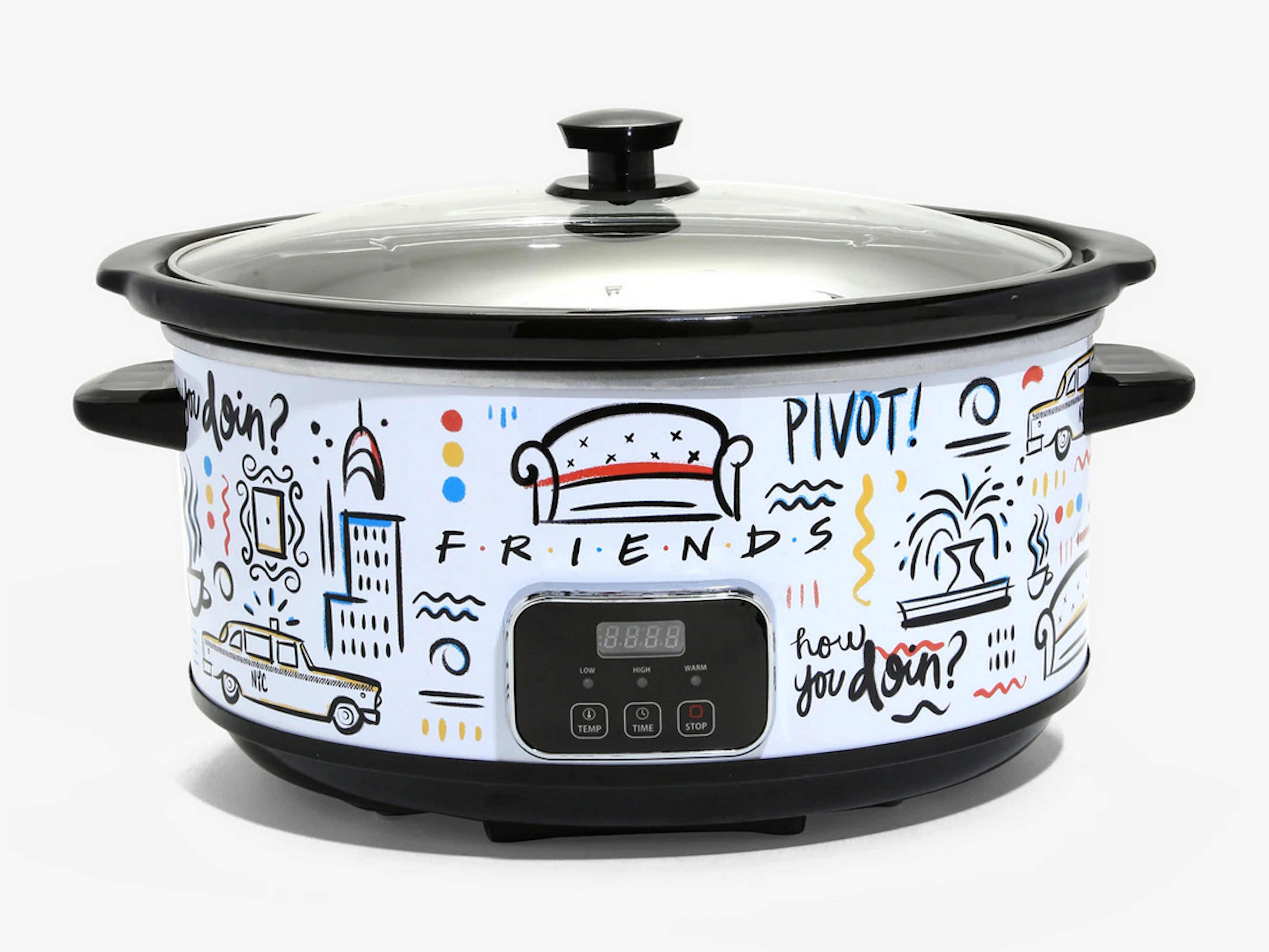 This Friends-Themed Slow Cooker Will Be There For You