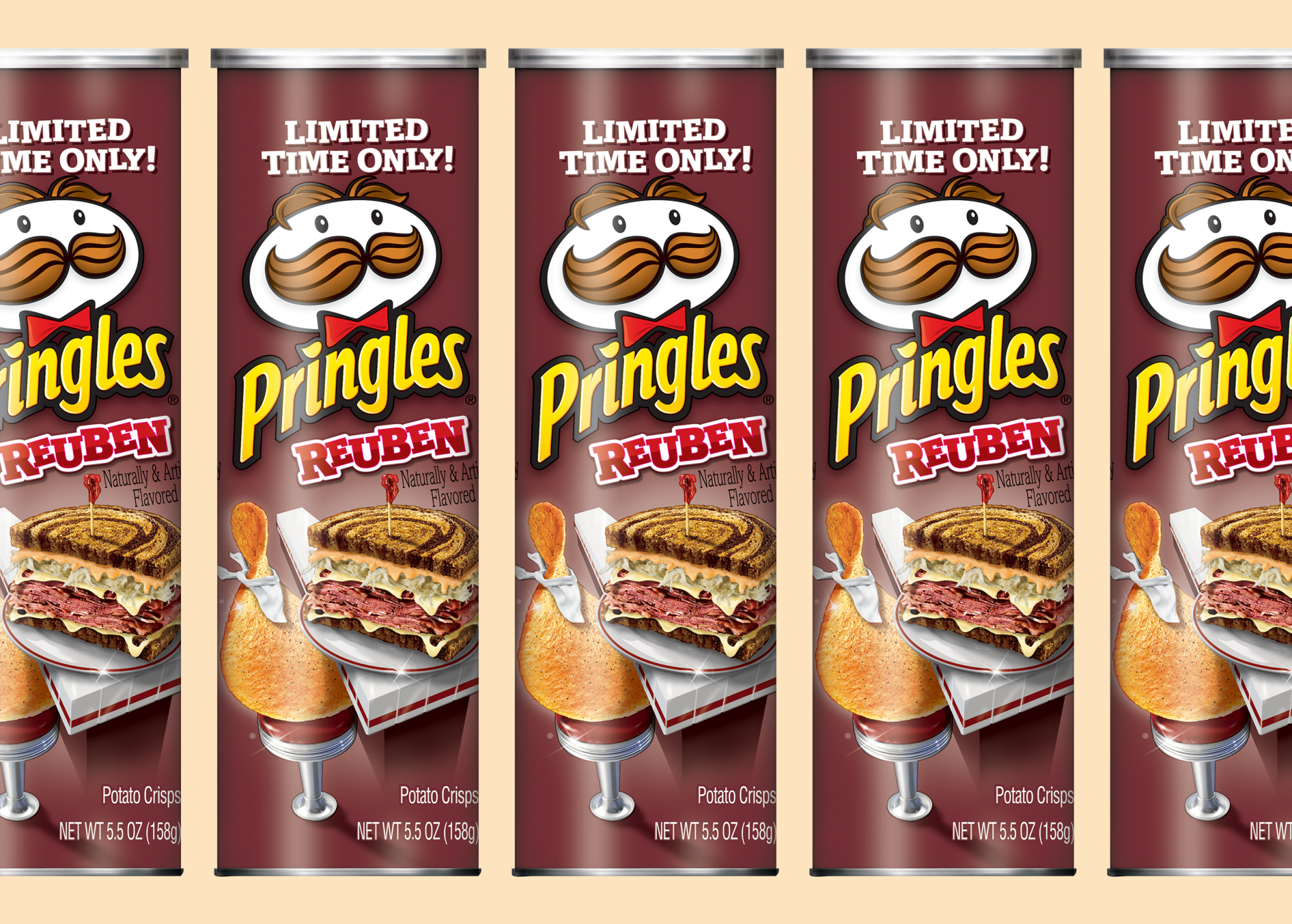 Pringles' New Reuben Chips Are So Tasty You Can Ditch the Deli