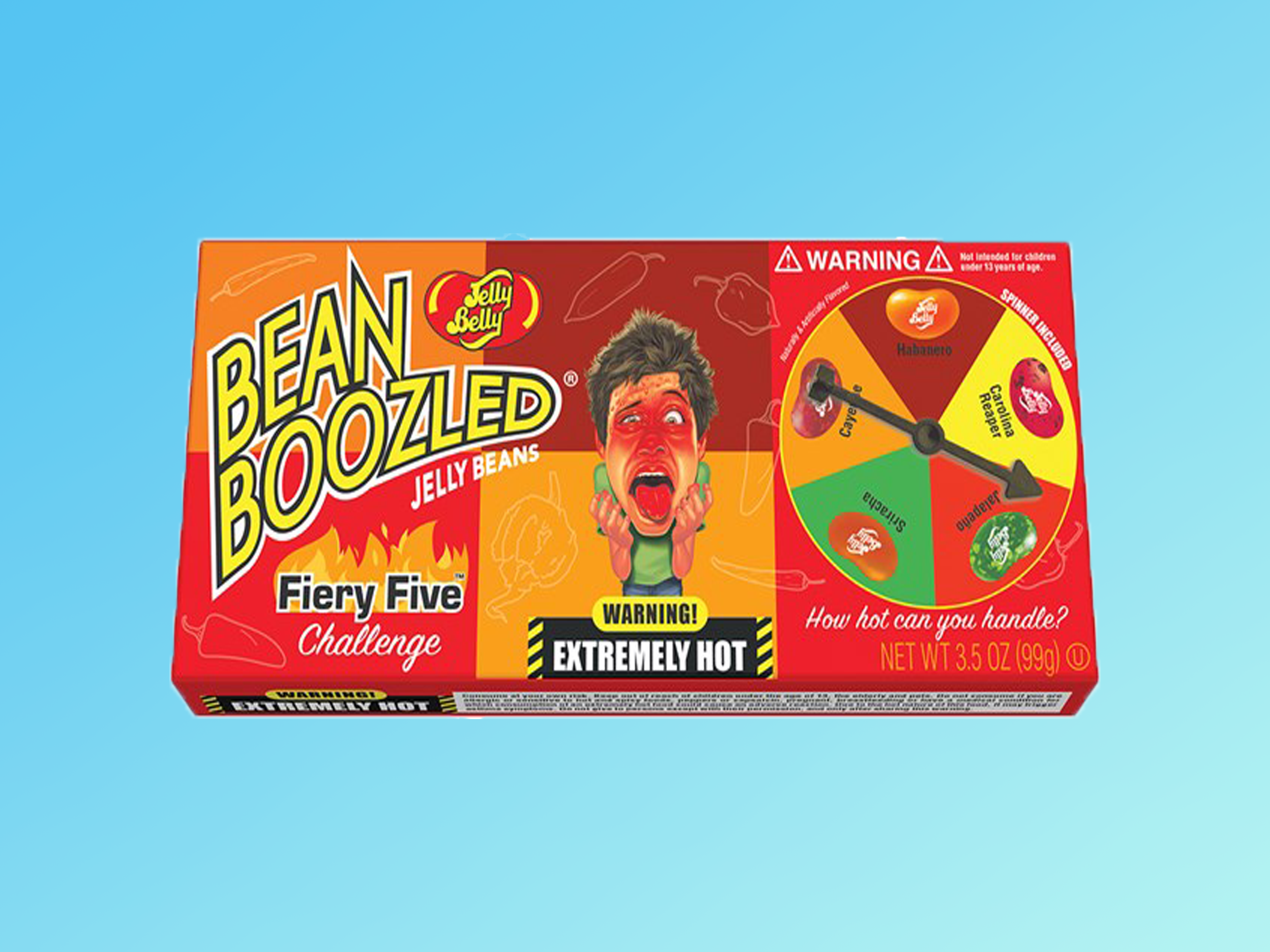 Jelly Belly Just Rolled Out Fiery Hot Jelly Beans