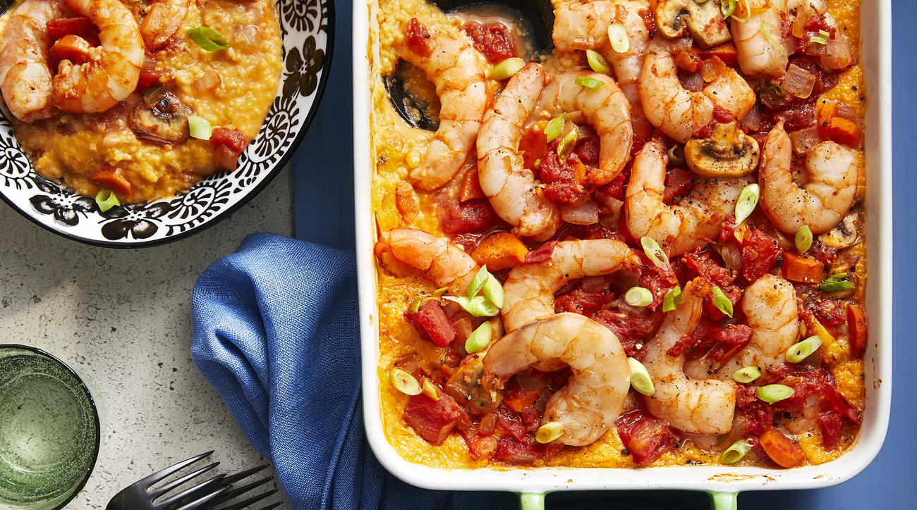 mr-Shrimp and Grits Casserole image
