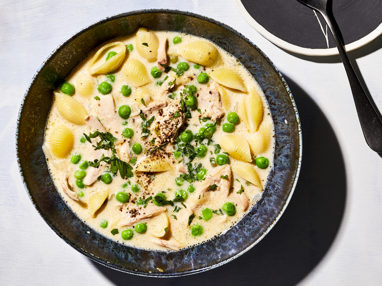 Chicken Alfredo Soup image