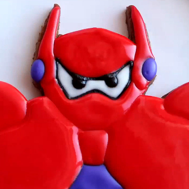 Armored Baymax Cookie