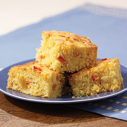 Super-Moist Cornbread with Real Mayonnaise