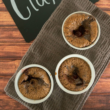 Easy Chocolate Clafoutis