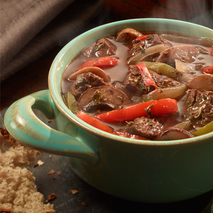 Better Than Bouillon® Potted Italian Beef with Sweet Peppers [Ad]