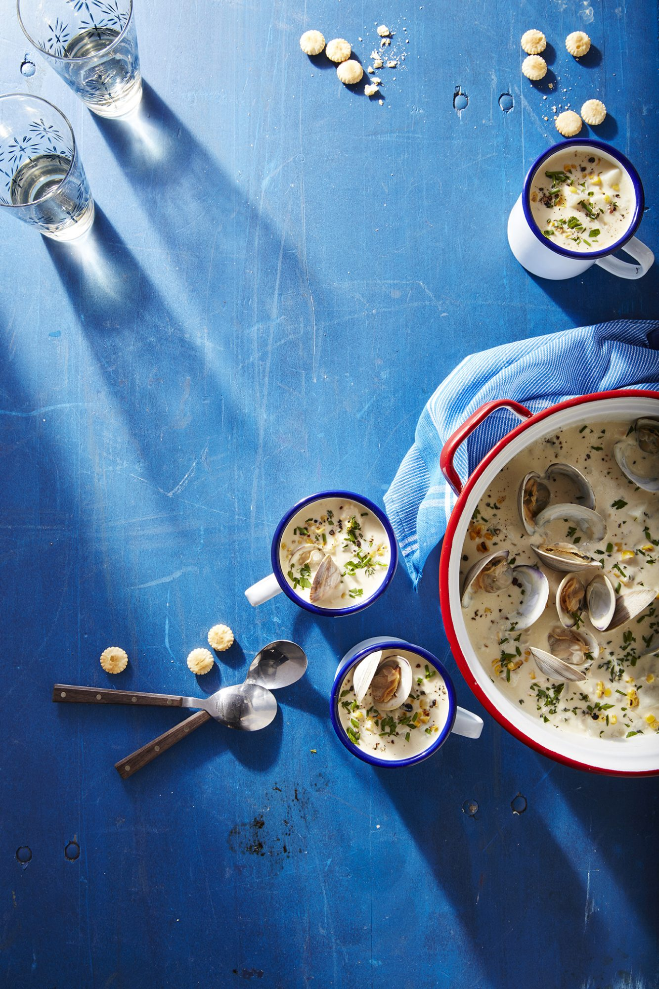 Clam-and-Corn Chowder