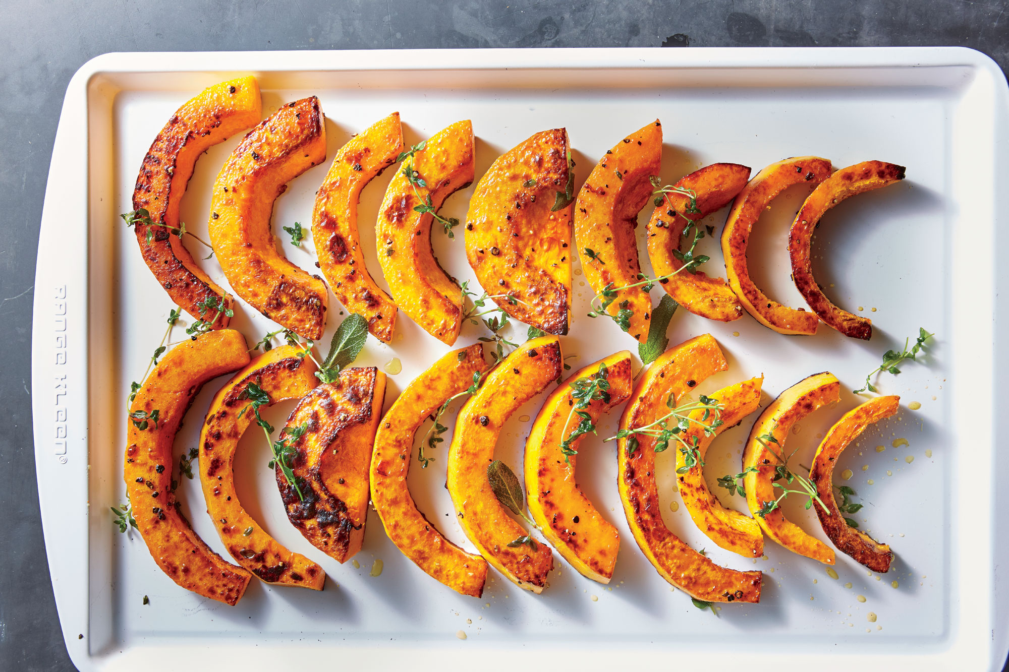 ck-Roasted Butternut with Sage and Thyme