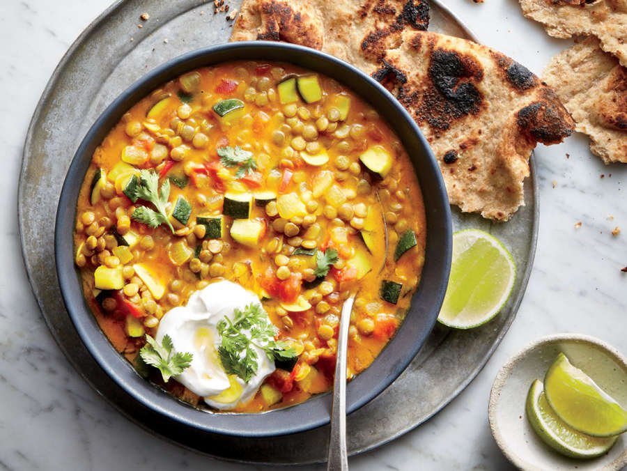 ck-Curried Lentil-and-Vegetable Stew