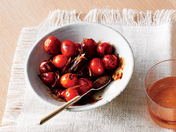 Blistered Balsamic Cherry Tomatoes