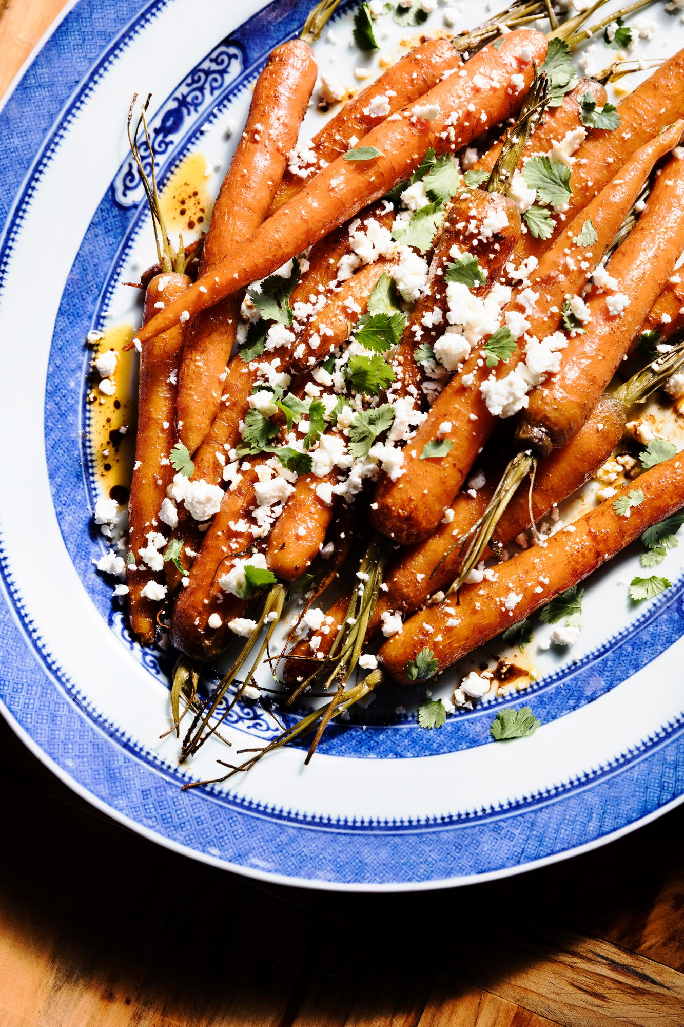 Rum and Honey-Roasted Cayenne-Cumin Carrots