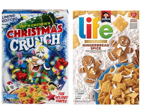 Christmas Crunch Cereal.Christmas Cap N Crunch And Gingerbread Spice Life Return To