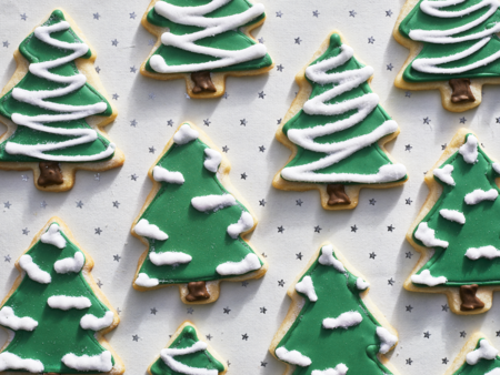 Christmas Cut Out Cookies.Christmas Cutout Cookies