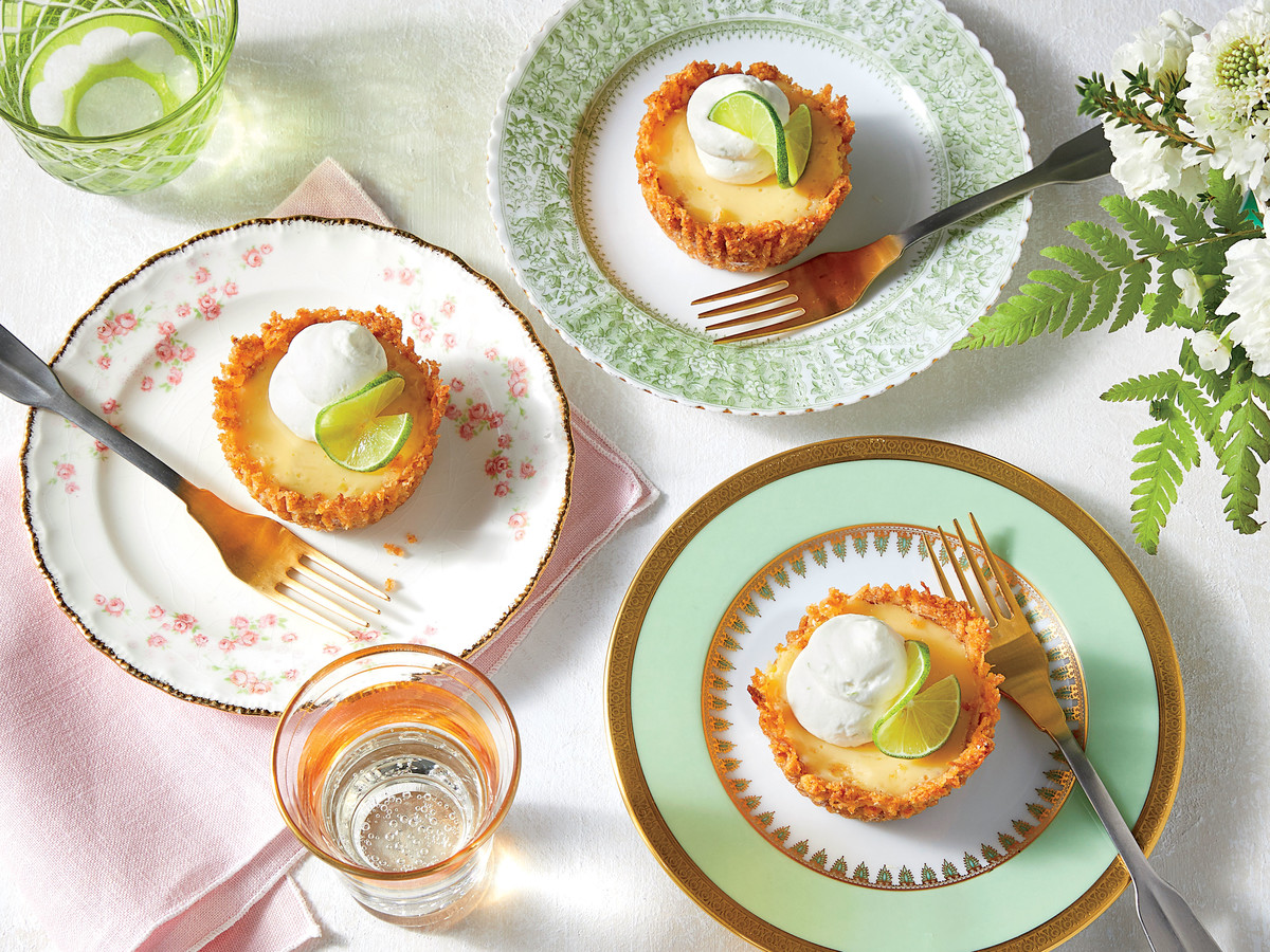 Mini Coconut-Key Lime Pies