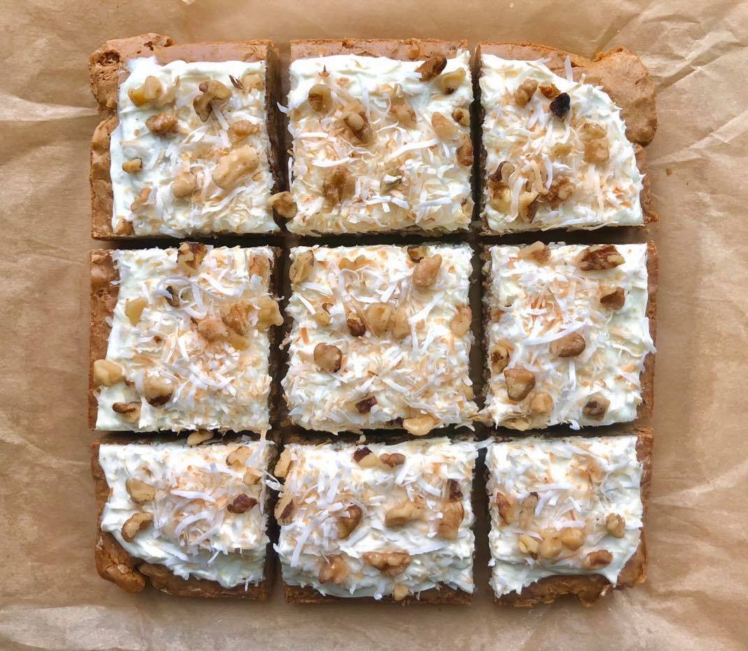 mr-Carrot Cake Brownies image