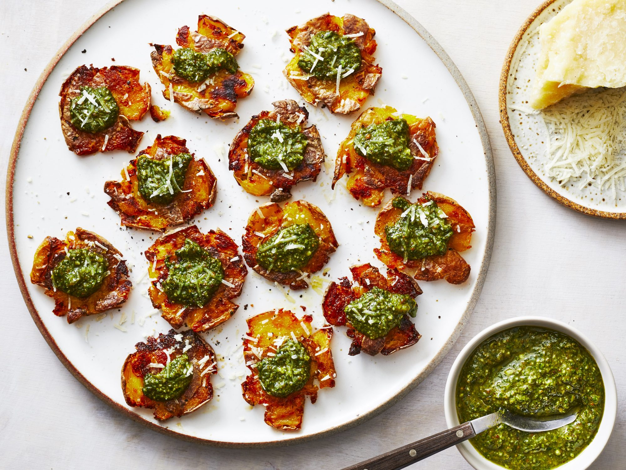 mr - Pesto Smashed Potatoes Image