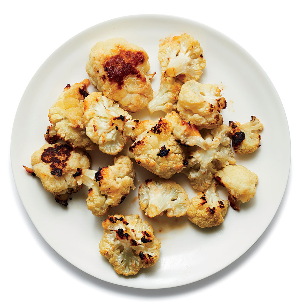 Miso Roasted Cauliflower