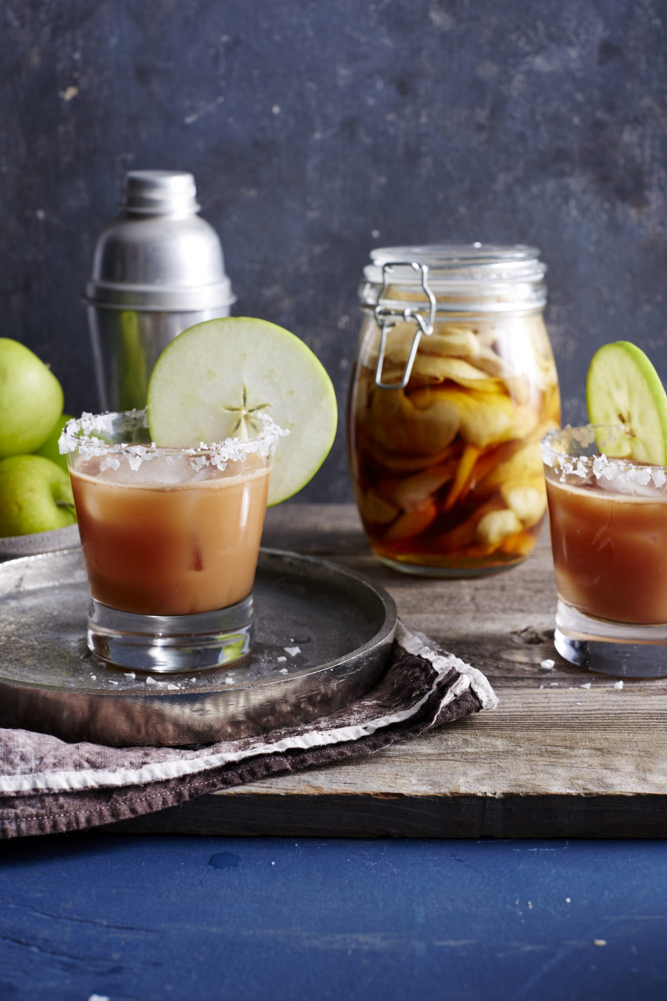 Salted Caramel Apple Old-Fashioned