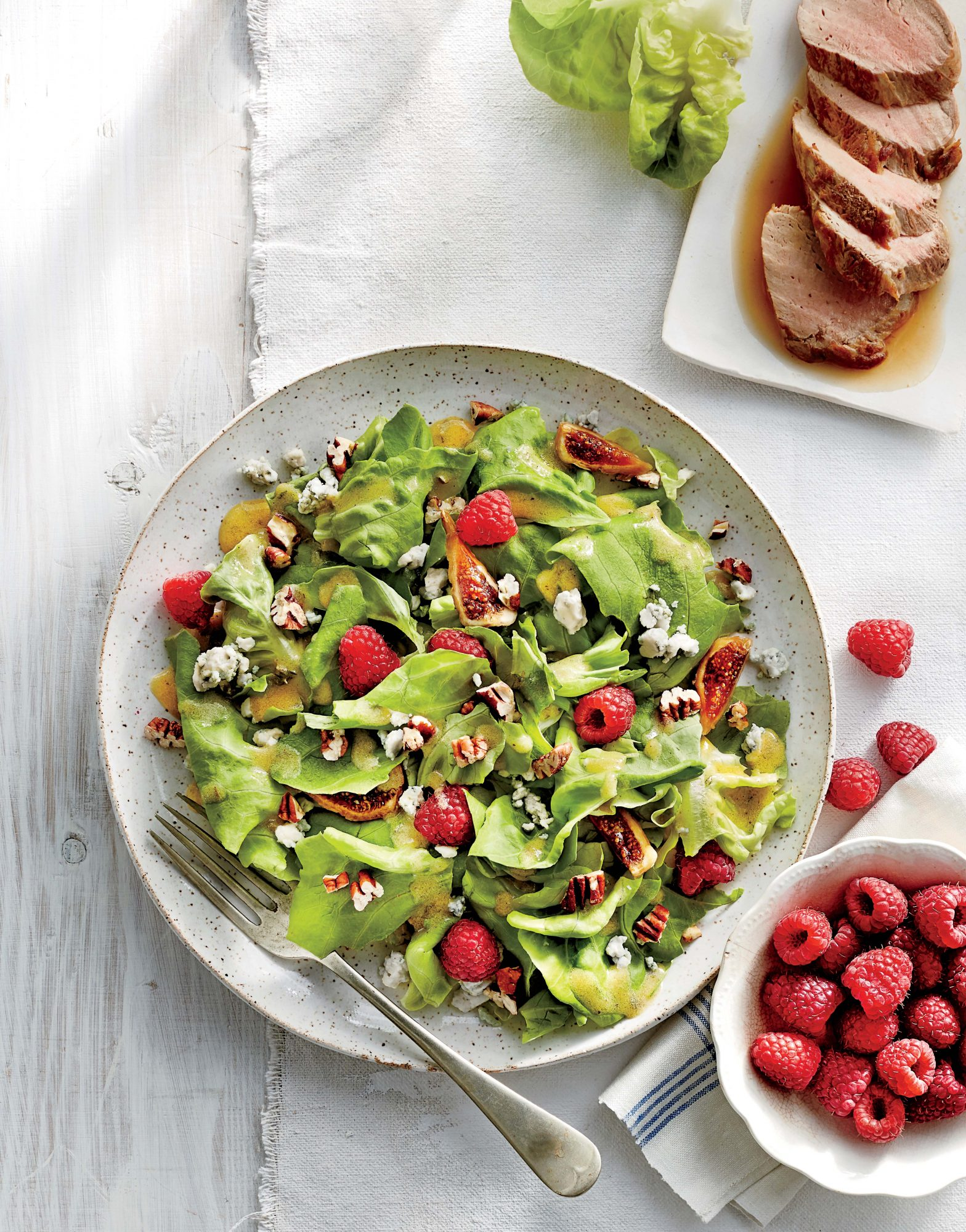 Raspberry and Fig Salad