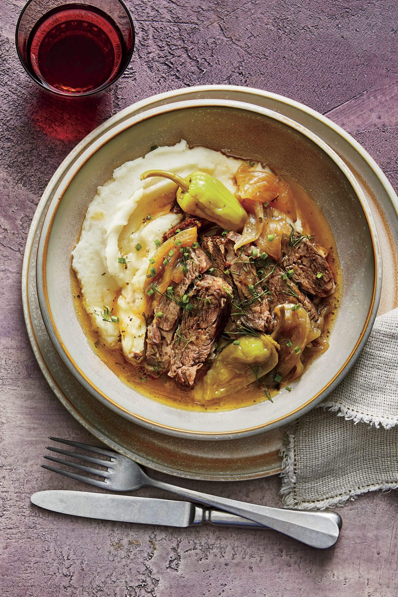 Instant Pot Mississippi Pot Roast