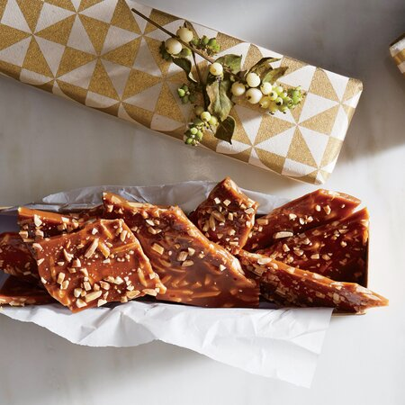 Almond Antique Brittle Recipe Myrecipes