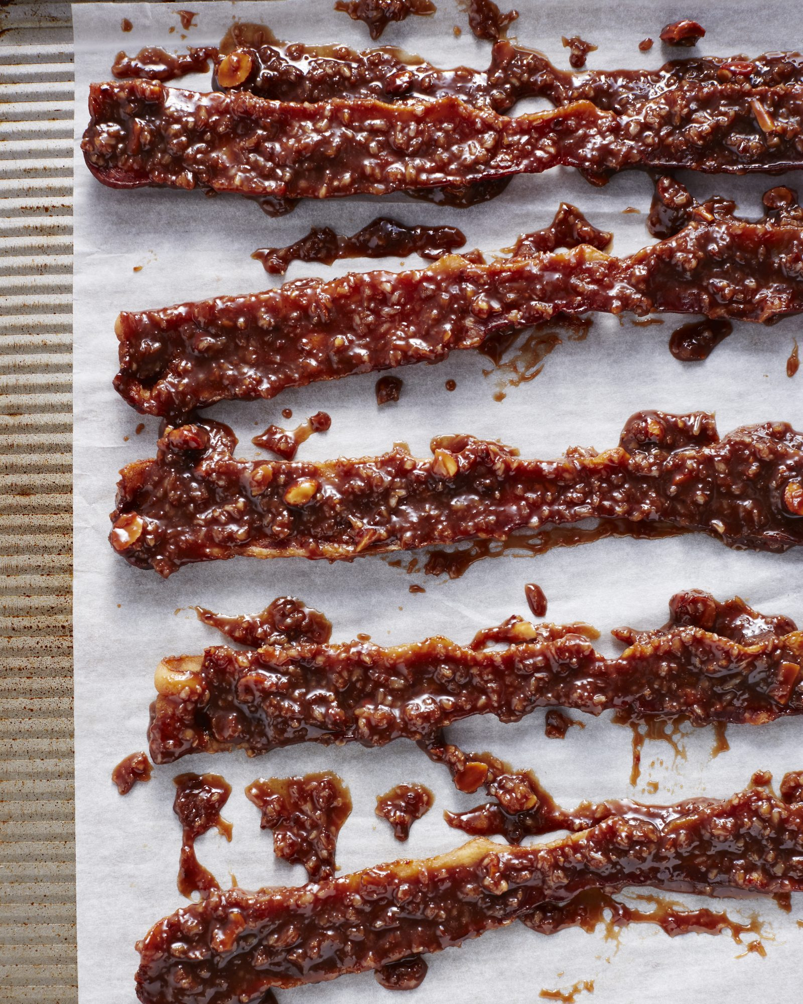 Almond Joy Candied Bacon
