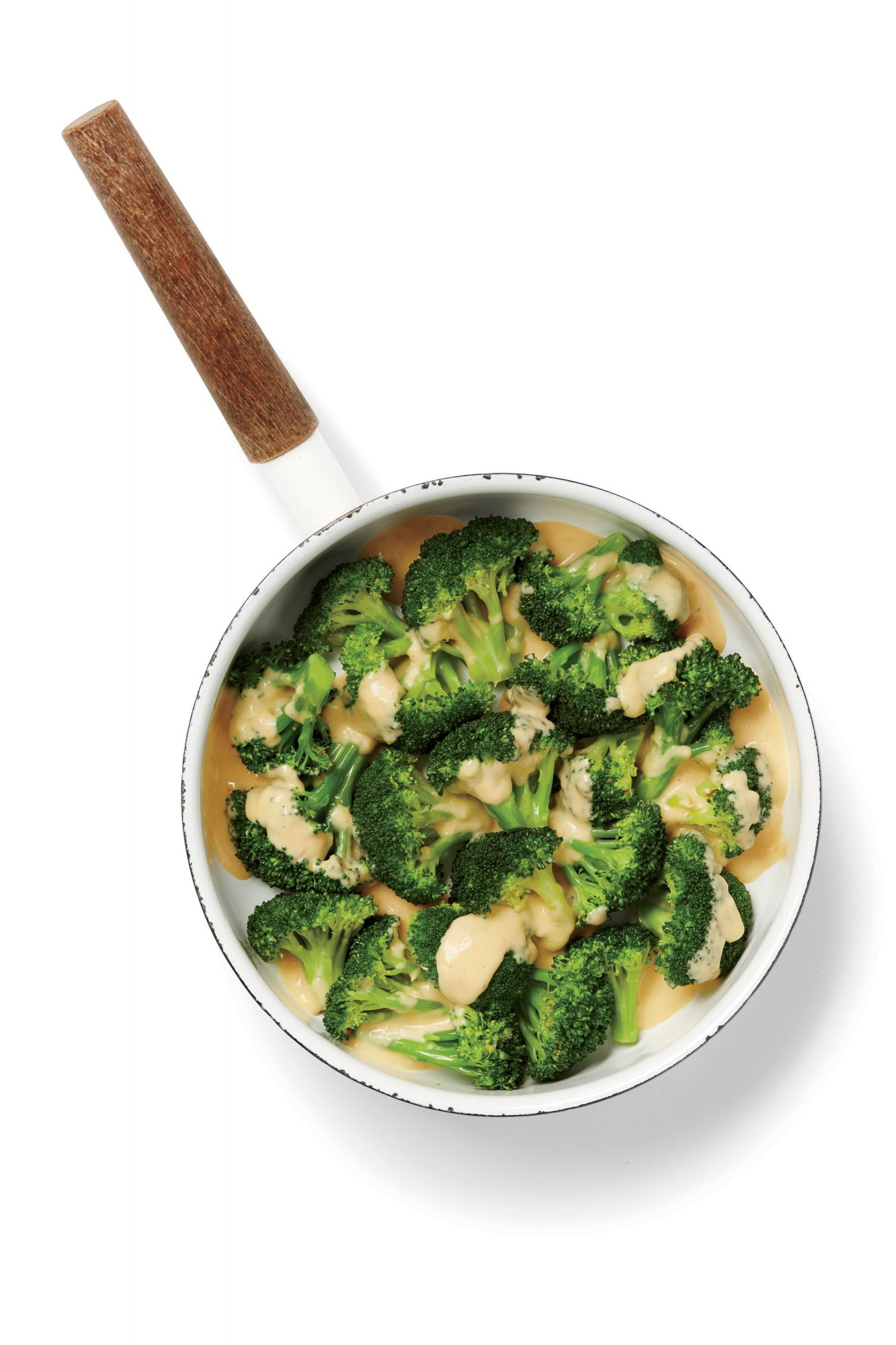 Broccoli with Cheese Sauce image