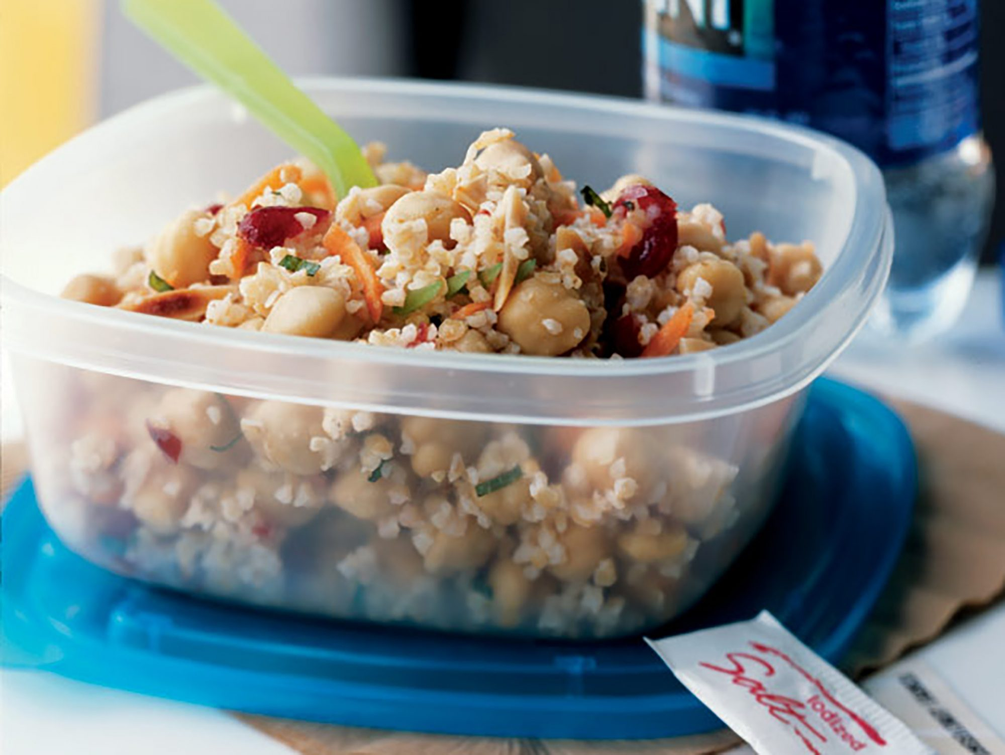 Moroccan-Spiced Bulgur and Chickpea Salad