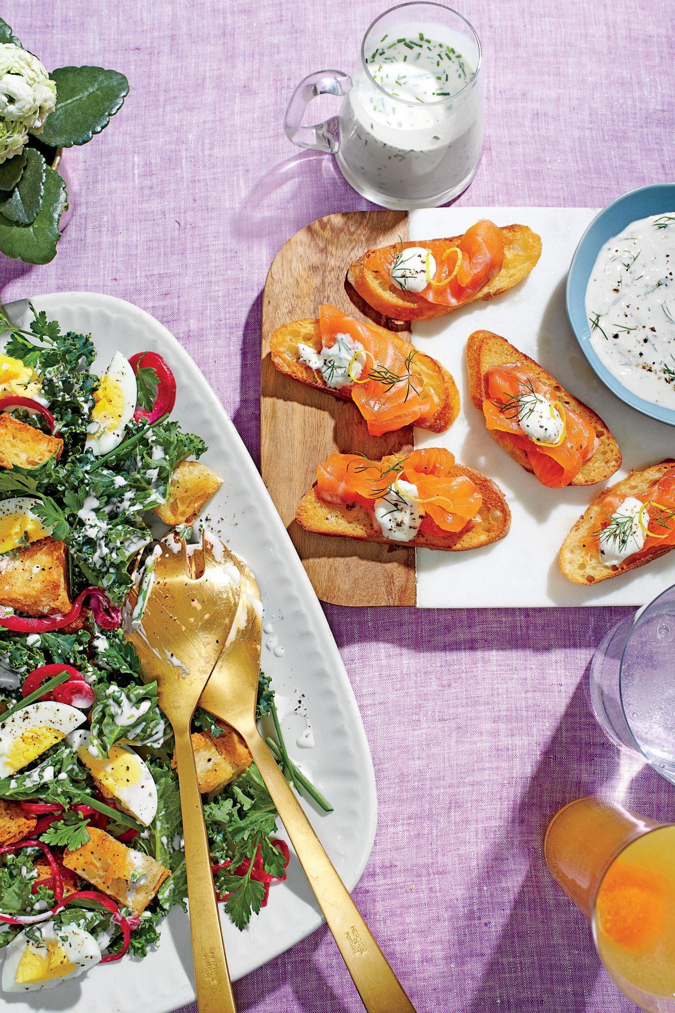 Buttery French Croutons