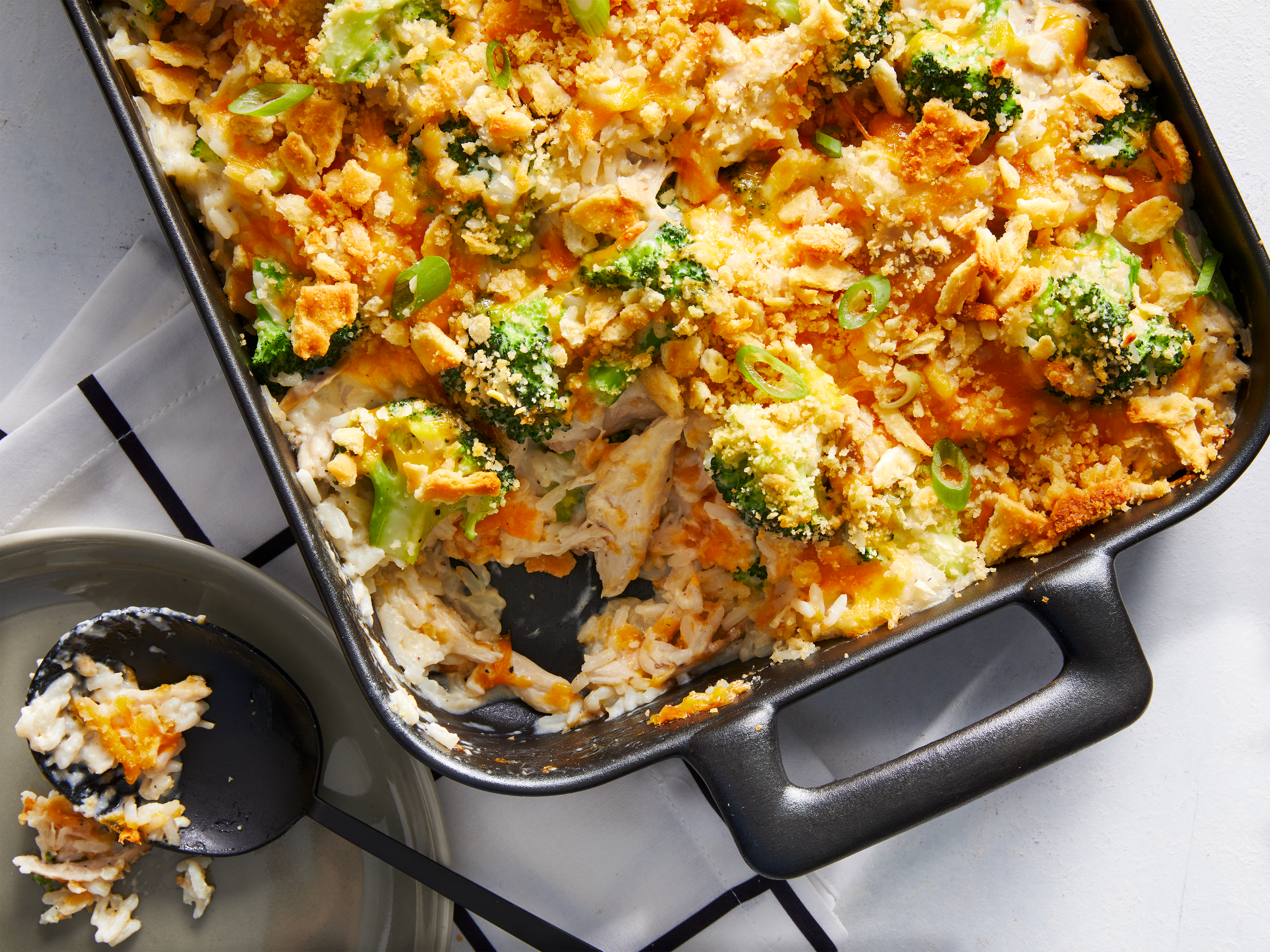 mr - Cheesy Chicken and Rice Casserole Image