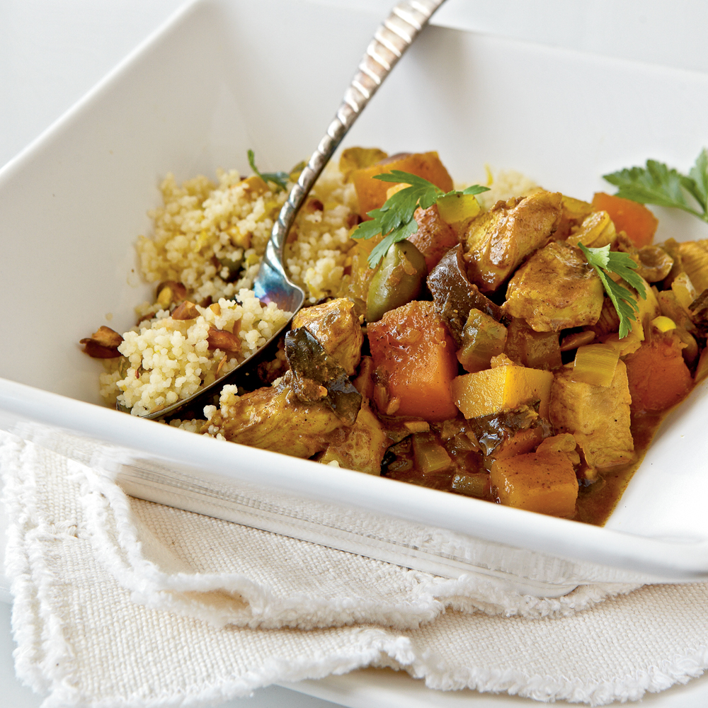 Chicken-Butternut Tagine