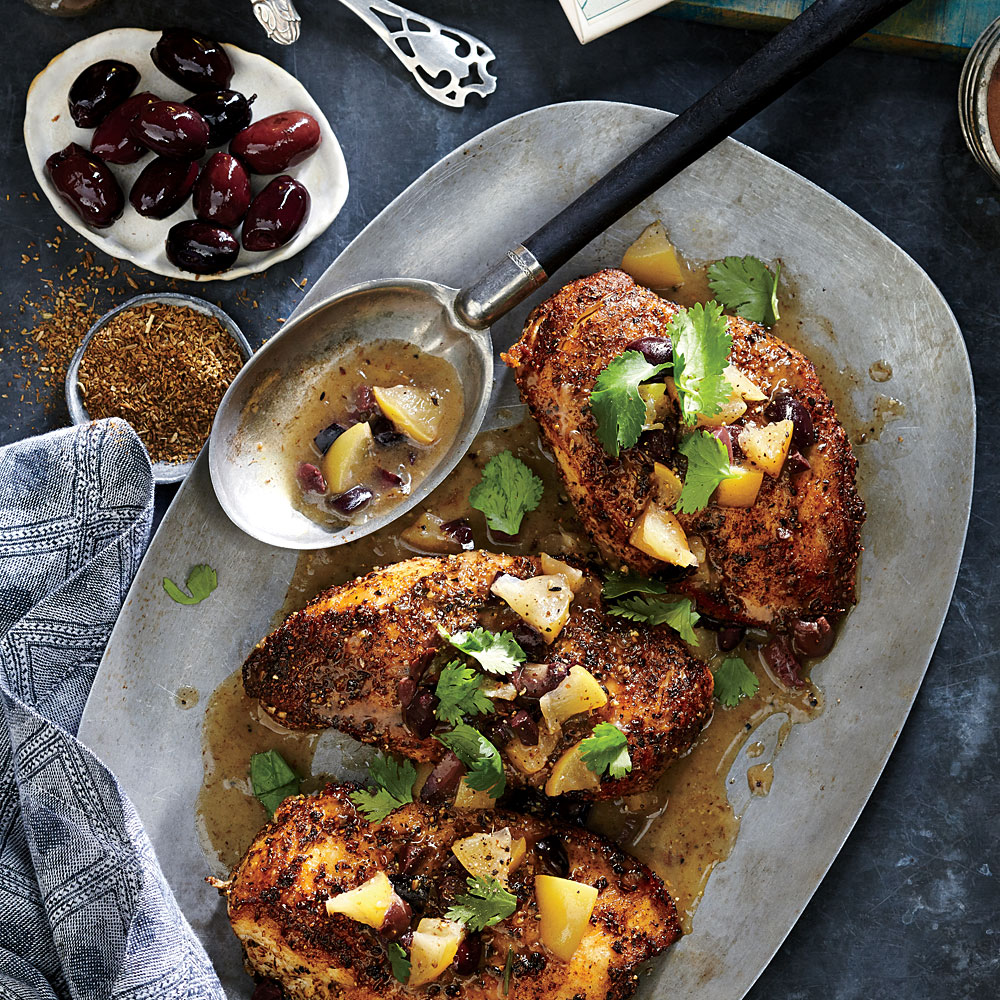 Chicken with Preserved Lemon