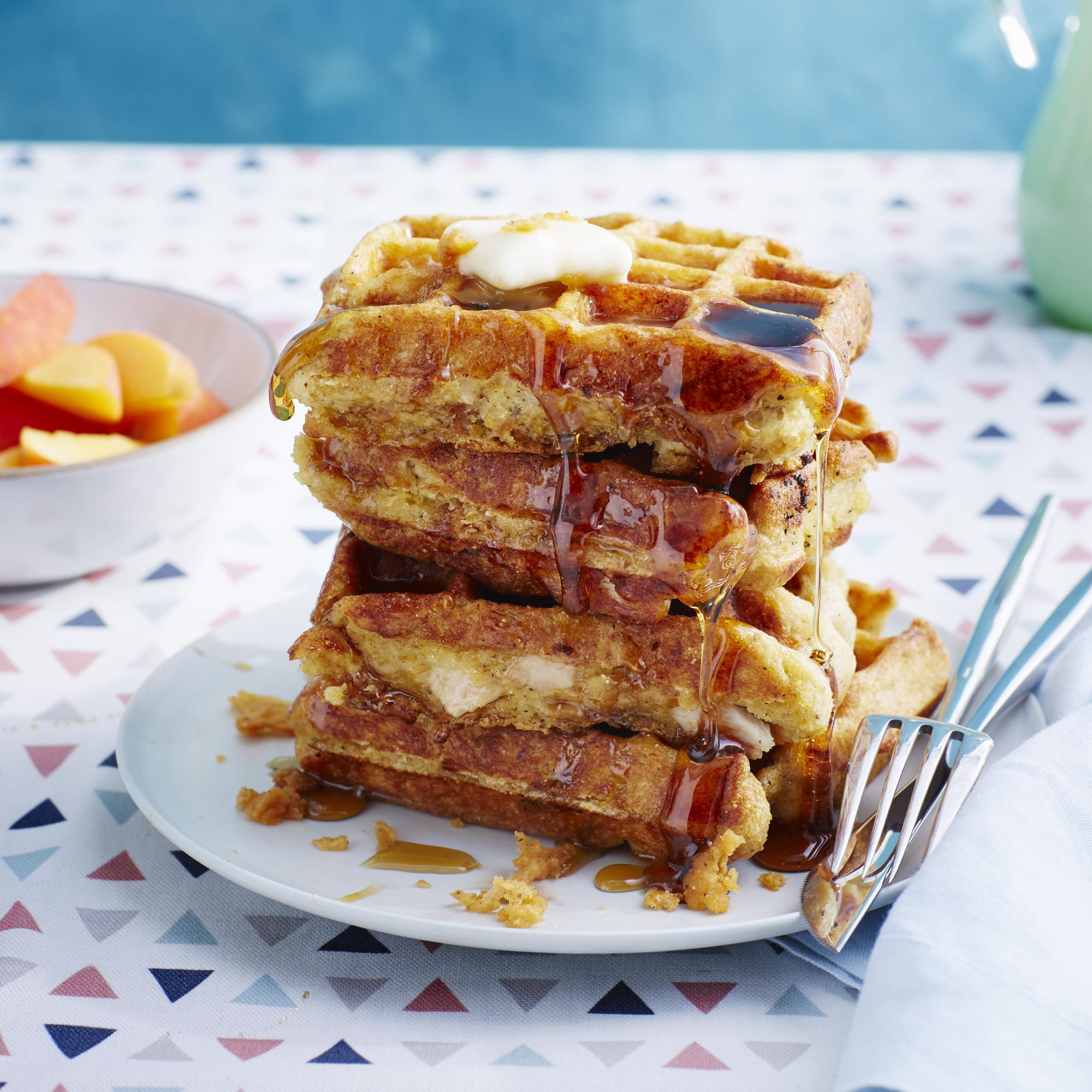 Chicken in Waffles image