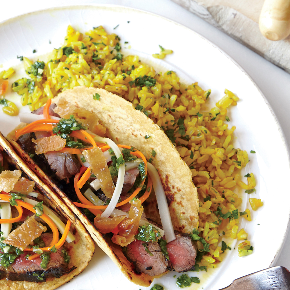 Cilantro Yellow Rice