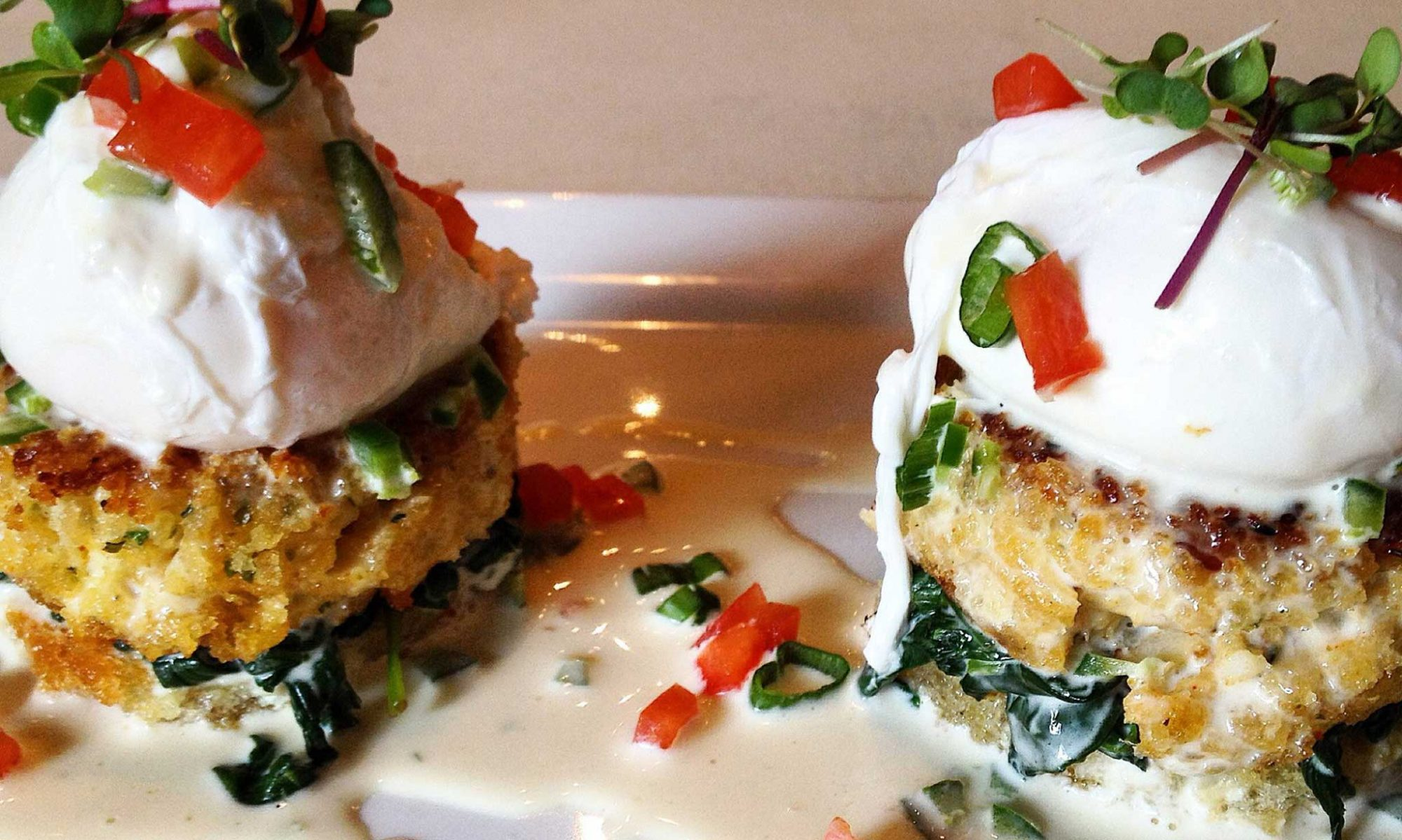 EC: Make Crab Cakes with Jalapeño Beurre Blanc Instead of Eggs Benedict