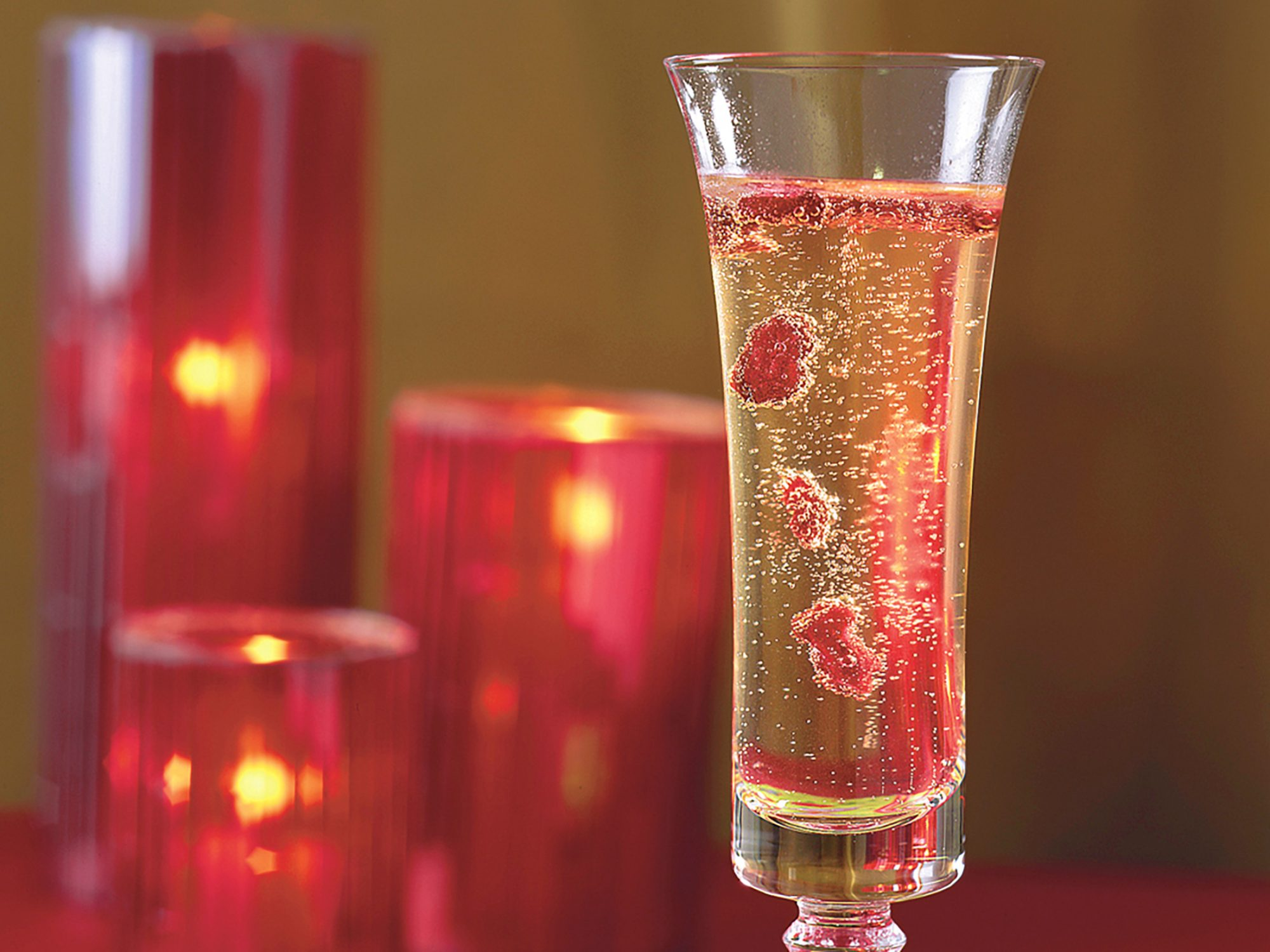 Champagne and Cranberries