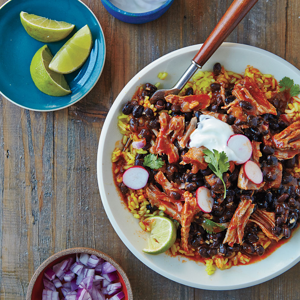 Cuban Pork and Black Bean Stew