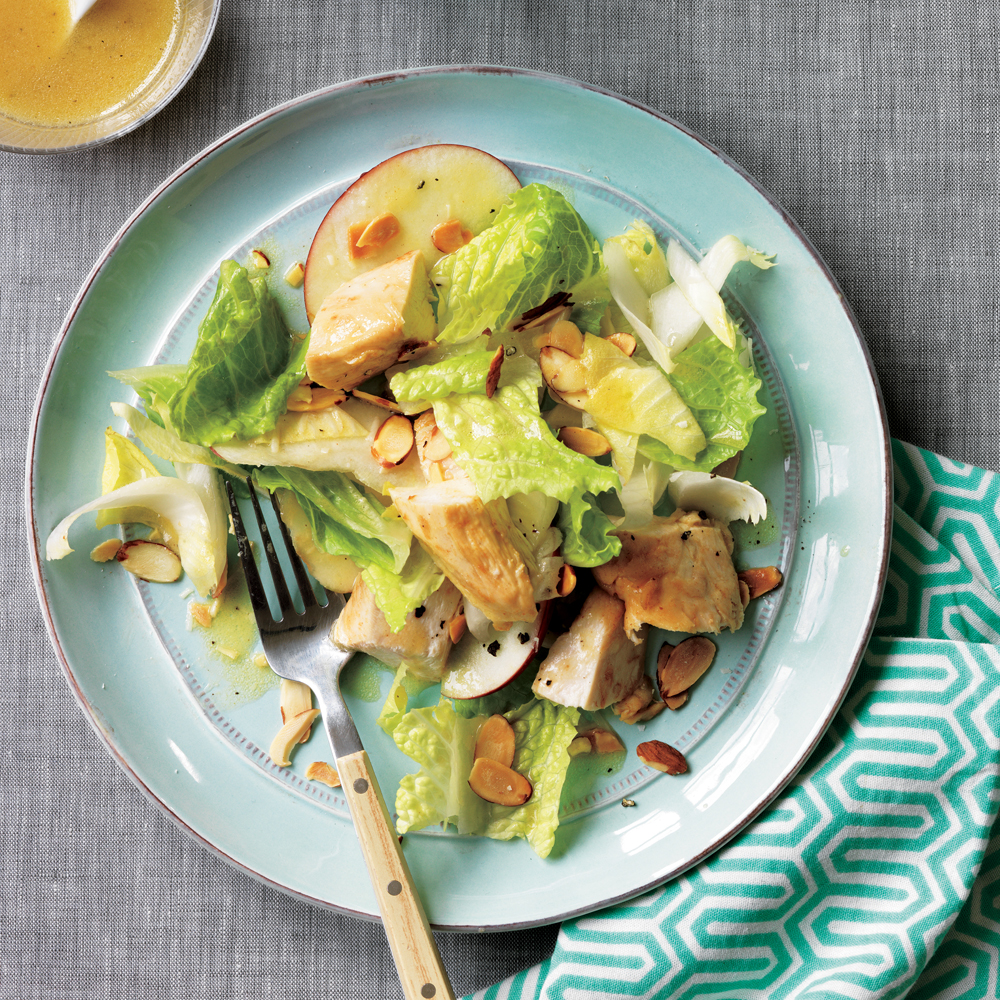 Endive, Apple and Chicken Salad