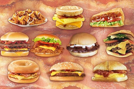 The Best And Worst Bacon From Fast Food Restaurants Myrecipes