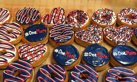 EC Have A Dunkin039 Donuts Super Bowl Party