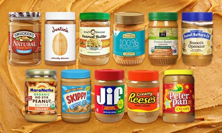 I Tried 11 Peanut Butters and Here's the Best One | MyRecipes