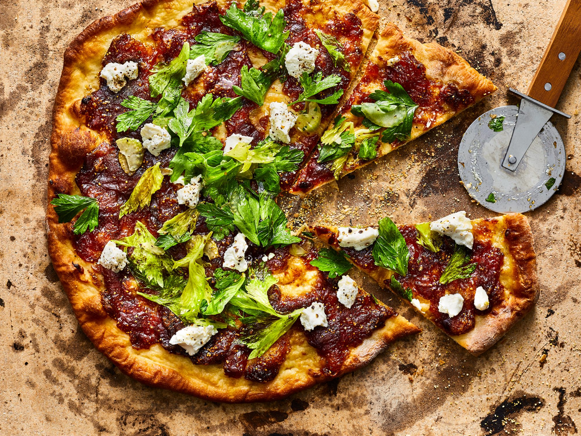 Fig Jam Pizza image