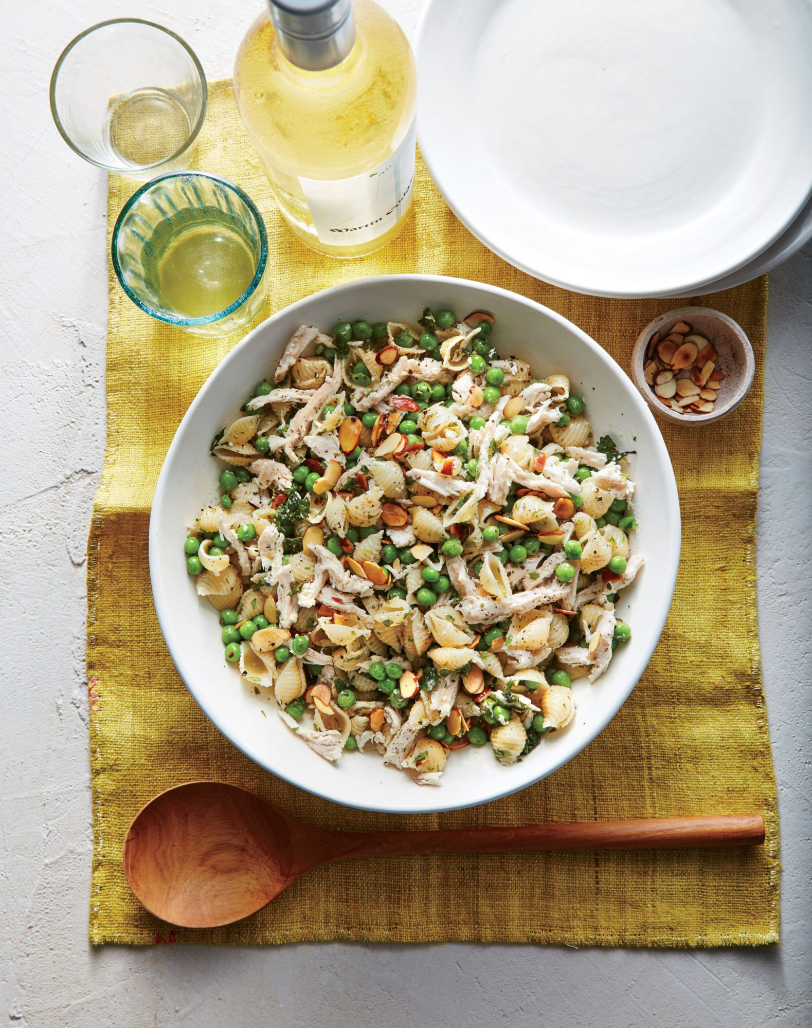 Herby Pea and Lemon Pasta Salad image