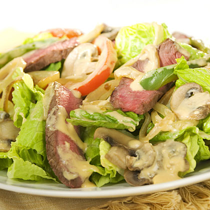 philly cheese steak salad recipe