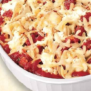 Italian Cheese Noodle Casserole
