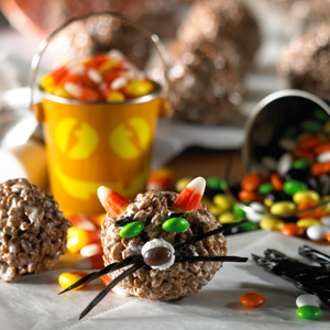 Cocoa Krispies Halloween Cats