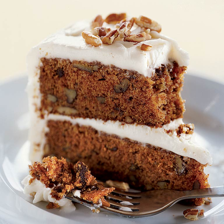 Orange-Carrot Cake with Classic Cream Cheese Frosting